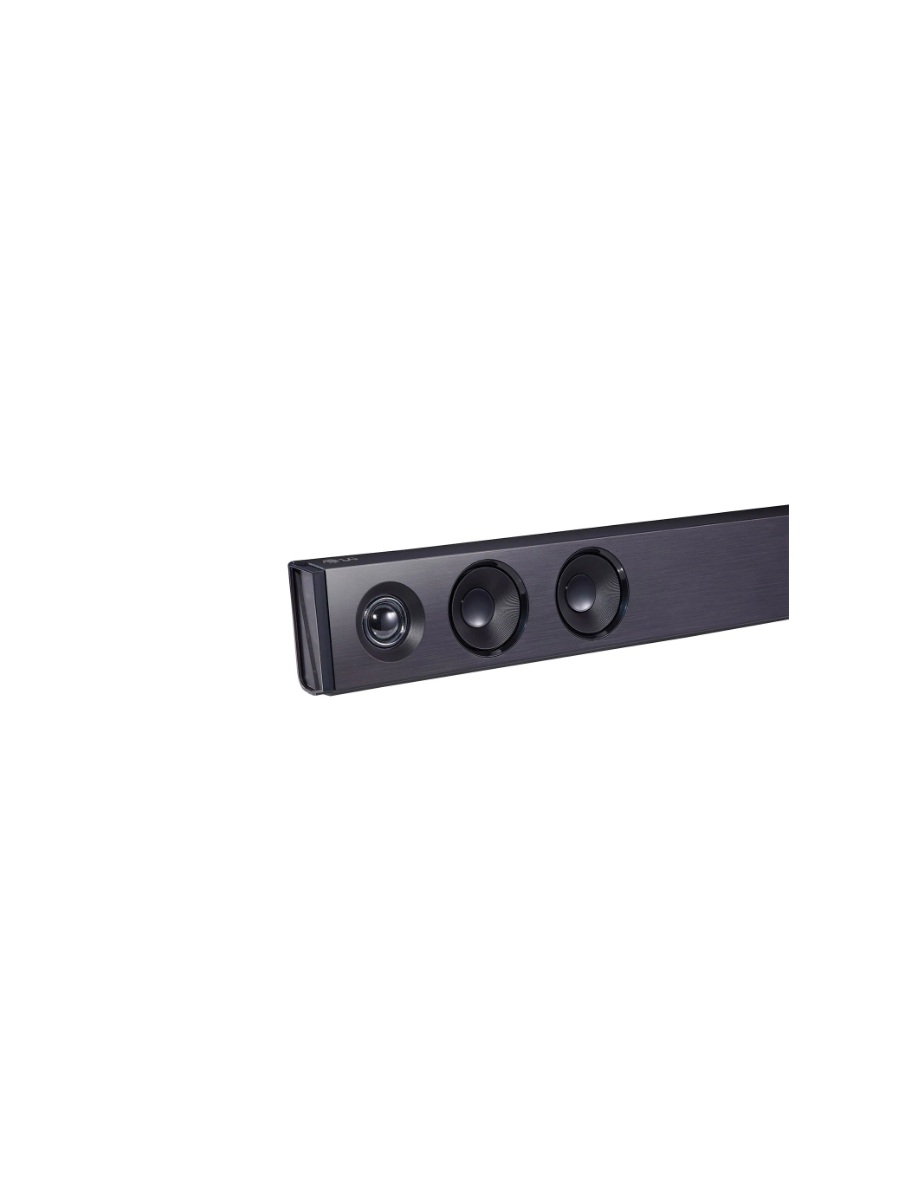 LG Sound Bar SK1D, 2.0ch, 100W, Adaptive Sound Control, Right sound for any content, Bluetooth Stand by,