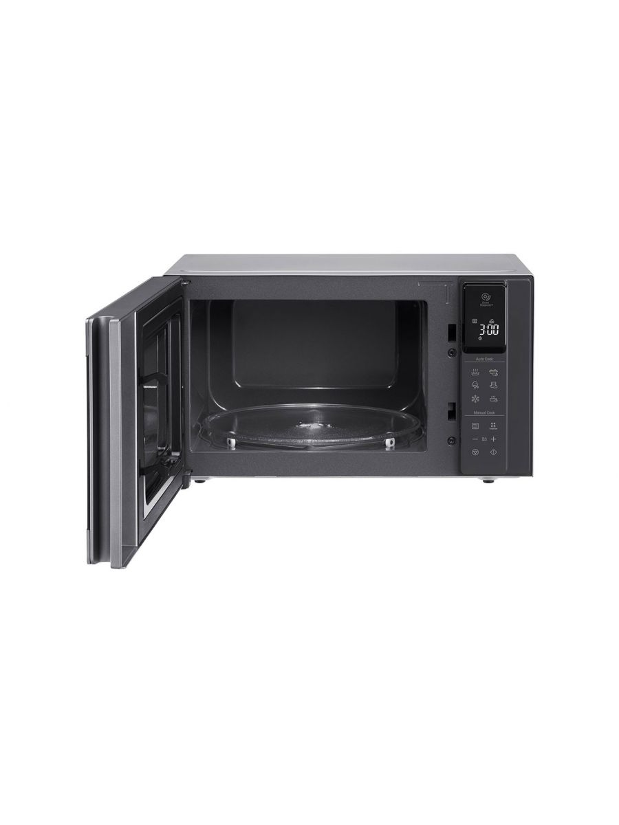 Microwave oven 25L, Smart Inverter, Even Heating and Easy Clean, Stainless color