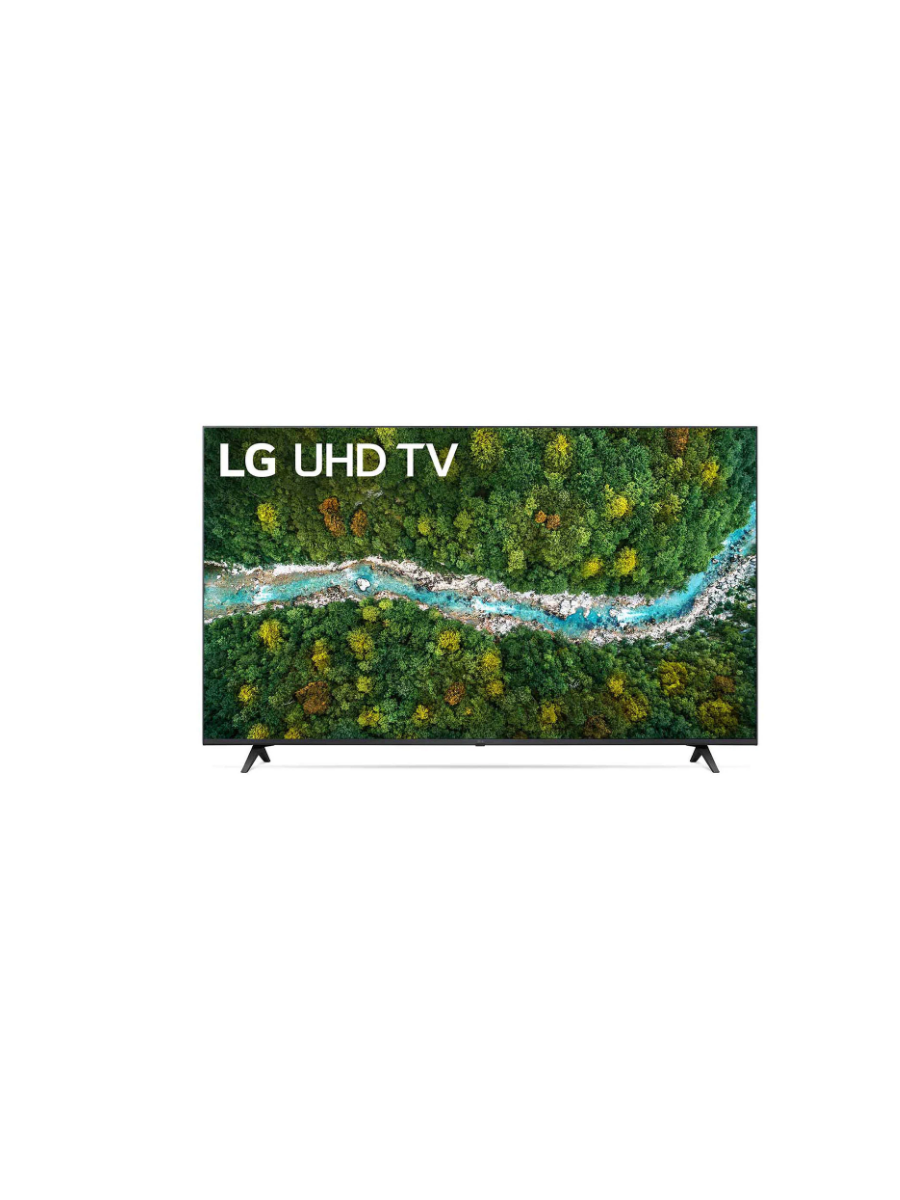 LG UHD 4K TV 50 Inch UP77 Series, Cinema Screen Design 4K Active HDR WebOS Smart AI ThinQ