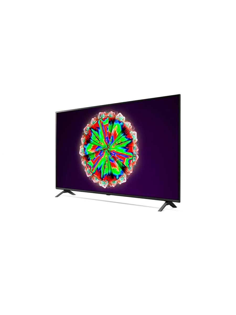 LG NanoCell TV 55 Inch NANO80 Series, Cinema Screen Design 4K Active HDR WebOS Smart AI ThinQ Local Dimming