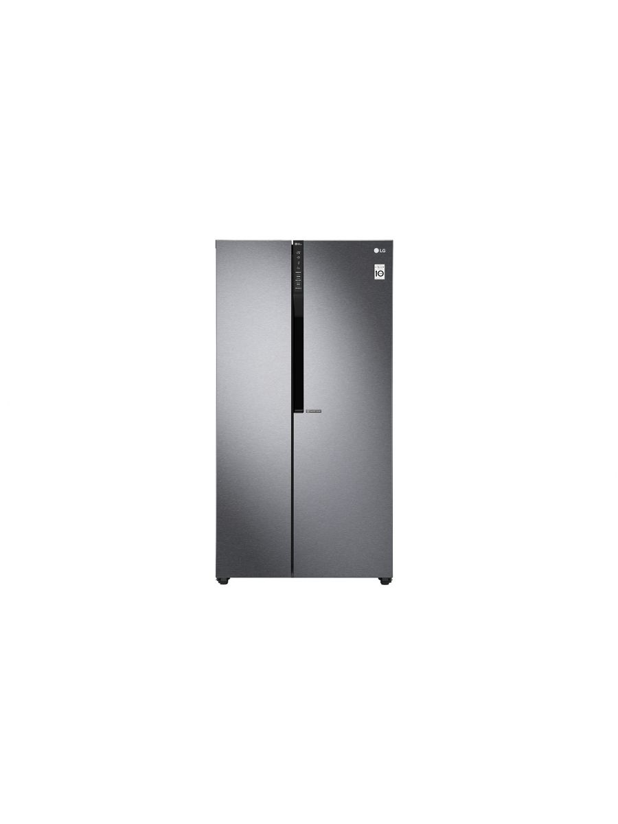 679L Side-By-Side Fridge, Inverter Linear Compressor, External Control, Dark Graphite Color